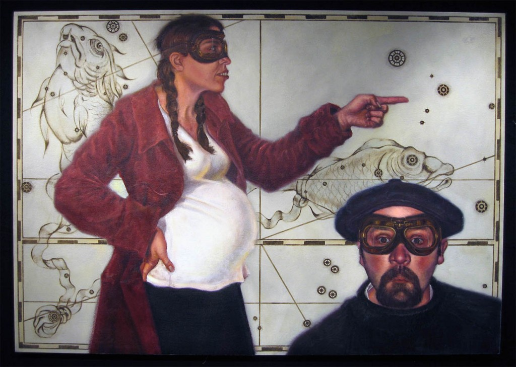 """Oil and Acrylic on Linen 42"""" x 60"""""""